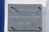 Plaque commémorative à Boisfort