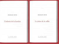 Deux recueils inédits à la Lettre Volée